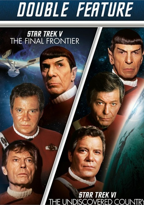 Star Trek V: The Final Frontier / Star Trek VI: The Undiscovered Country (Double Feature)