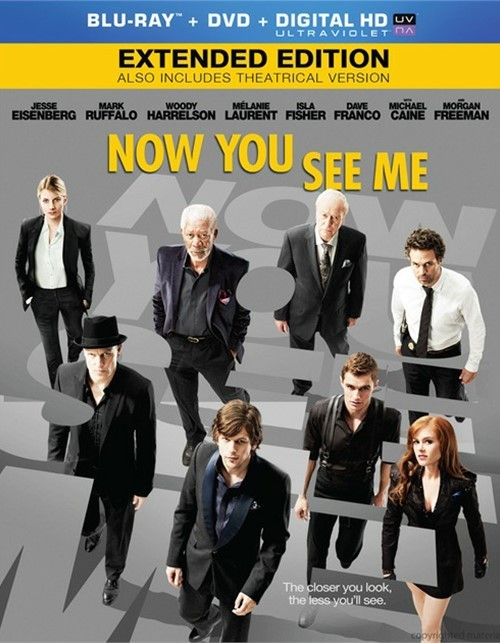 Now You See Me (Blu-ray + DVD + Digital Copy)