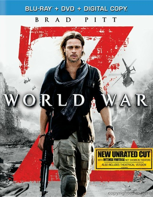 World War Z (Blu-ray + DVD + Digital Copy)