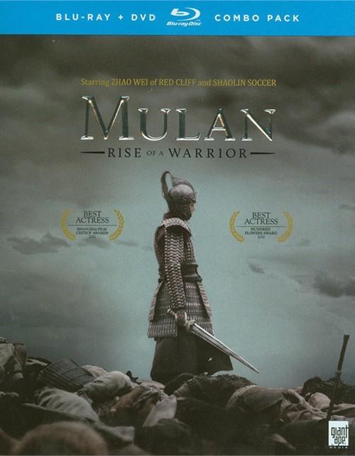 Mulan: Rise Of A Warrior (Blu-ray + DVD Combo)