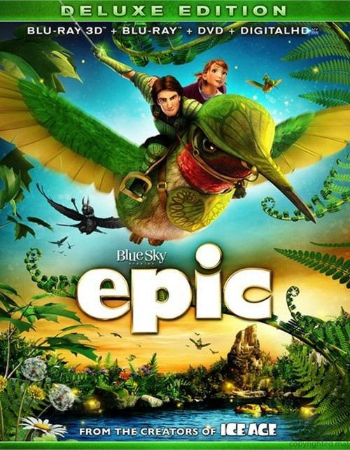 Epic 3D (Blu-ray 3D + Blu-ray + DVD + Digital Copy)