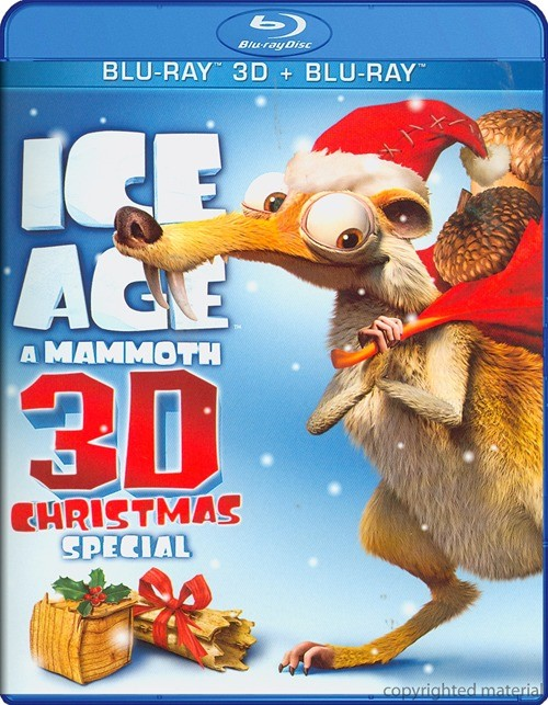 Ice Age: A Mammoth Christmas Special 3D (Blu-ray 3D + Blu-ray)