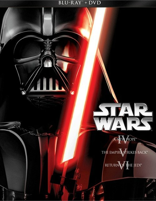 Star Wars Trilogy: Episodes IV - VI (Blu-ray + DVD Combo)