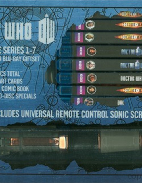 Doctor Who: The Complete Series 1 - 7 - Limited Edition Gift Set