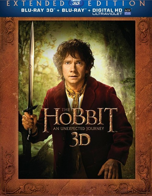 Hobbit, The: An Unexpected Journey 3D - Extended Edition (Blu-ray 3D + Blu-ray + UltraViolet)