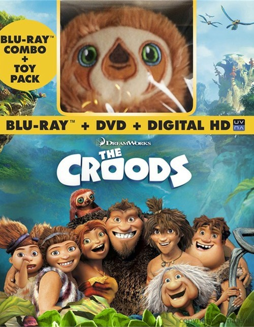 Croods, The (Blu-ray + DVD + Digital Copy + Plush)
