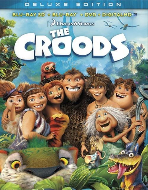 Croods, The 3D (Blu-ray 3D + Blu-ray + DVD + Digital Copy)