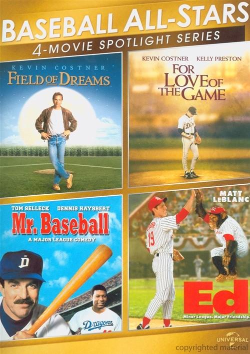 Baseball All-Stars: 4-Movie Spotlight Series