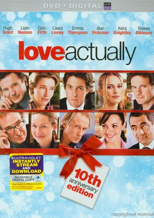Love Actually: 10th Anniversary Edition (DVD + UltraViolet)