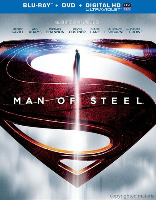 Man Of Steel (Blu-ray + DVD + Ultraviolet)