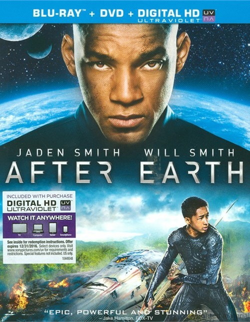 After Earth (Blu-ray + DVD + UltraViolet)