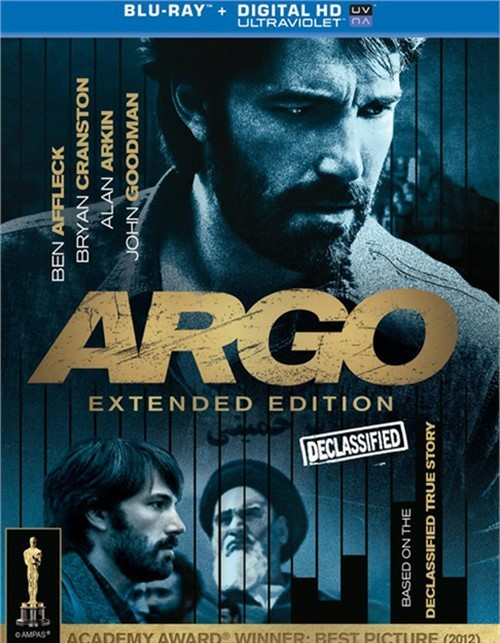 Argo: Extended Edition (Blu-ray + UltraViolet)