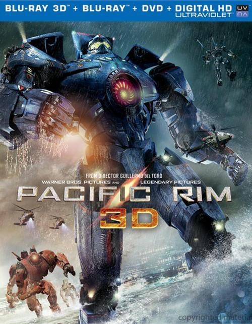 Pacific Rim 3D (Blu-ray 3D + Blu-ray + DVD + Ultraviolet)