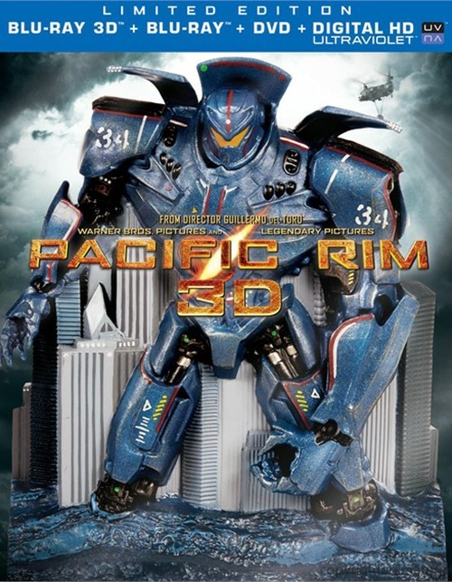 Pacific Rim 3D: Limited Edition (Blu-ray 3D + Blu-ray + DVD + Ultraviolet)
