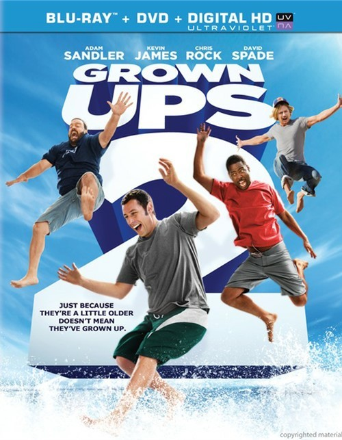 Grown Ups 2 (Blu-ray + DVD + UltraViolet)