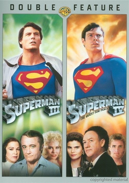 Superman III / Superman IV (Double Feature)