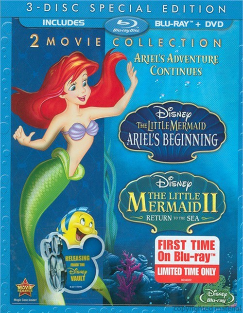 Little Mermaid II, The / The Little Mermaid: Ariels Beginning - 2 Movie Collection