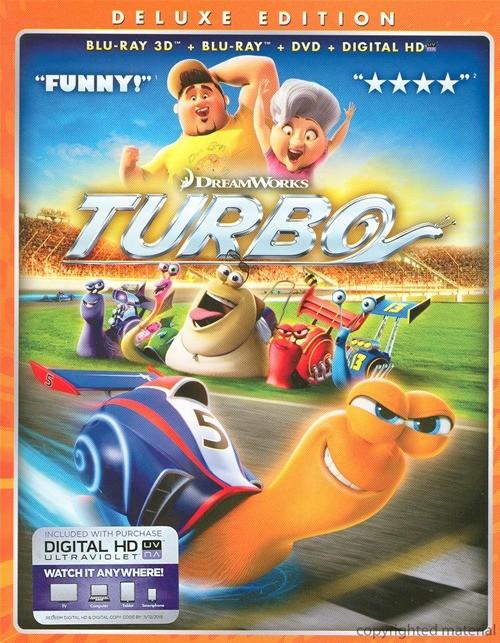 Turbo 3D (Blu-ray 3D + Blu-ray + DVD + Digital Copy)