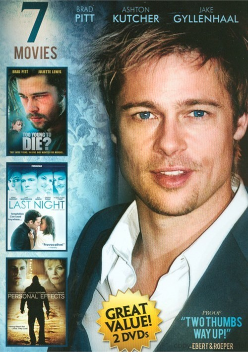 Brad Pitt & Angelina Jolie: 7 Movie Collection