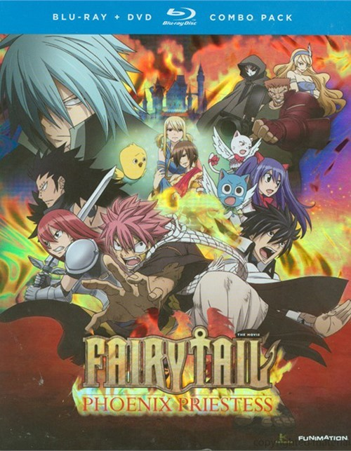 Fairy Tail: The Movie - Phoenix Priestess (Blu-ray + DVD Combo)