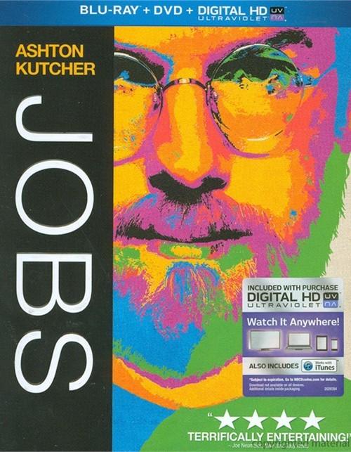 Jobs (Blu-ray + DVD + UltraViolet)