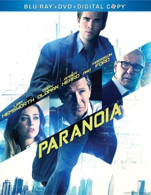 Paranoia (Blu-ray + DVD + Digital Copy)