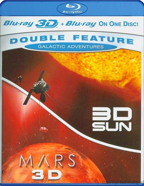 3D Sun / Mars 3D (Galactic Adventures Double Feature)