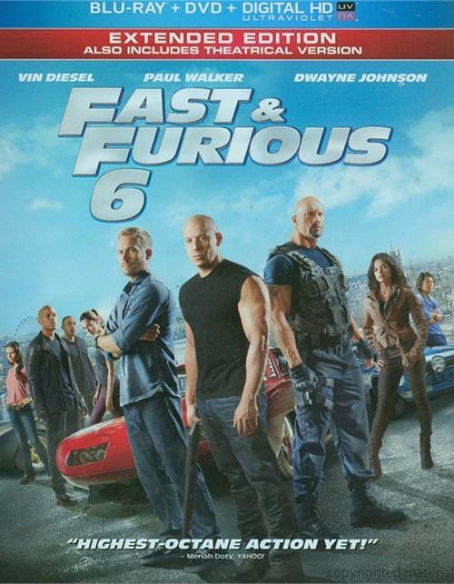 Fast & Furious 6 (Blu-ray + DVD + UltraViolet)