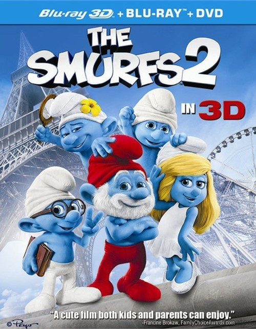 Smurfs 2 3D, The (Blu-ray 3D + Blu-ray + DVD + UltraViolet)