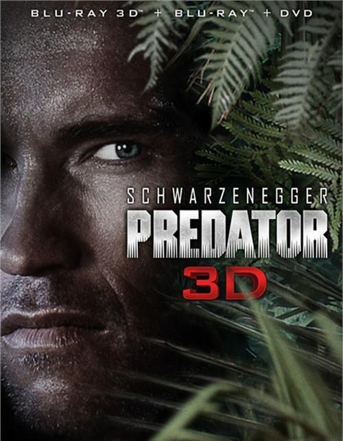 Predator 3D (Blu-ray 3D + Blu-ray + DVD)