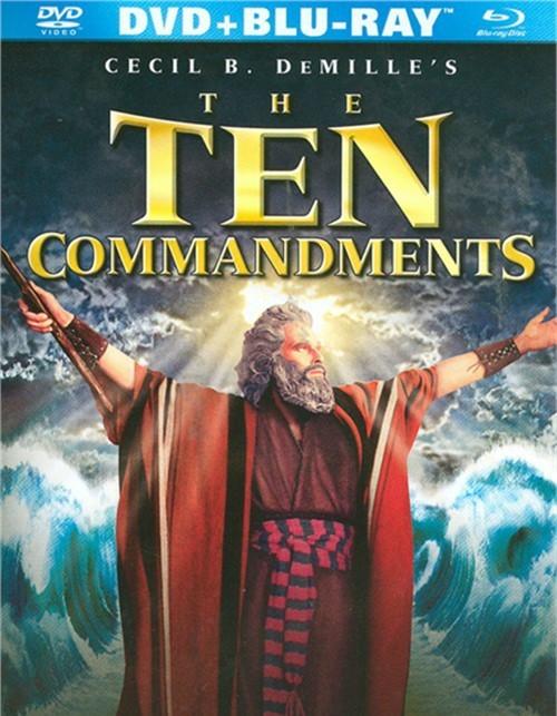 Ten Commandments, The (Blu-ray + DVD Combo)