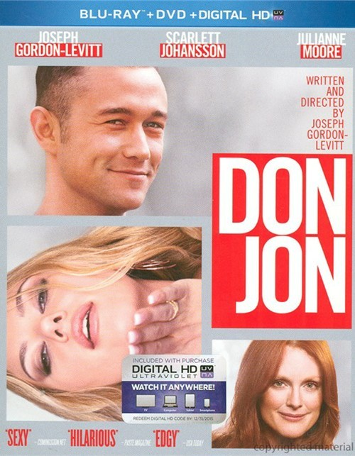 Don Jon (Blu-ray + DVD + UltraViolet)