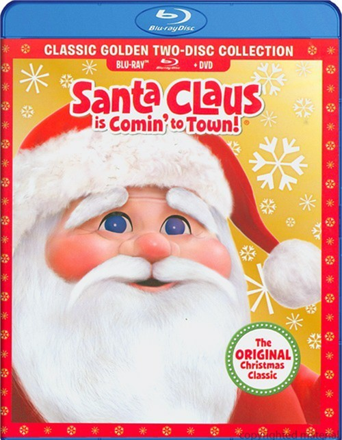 Santa Claus Is Comin To Town (Blu-ray + DVD Combo)