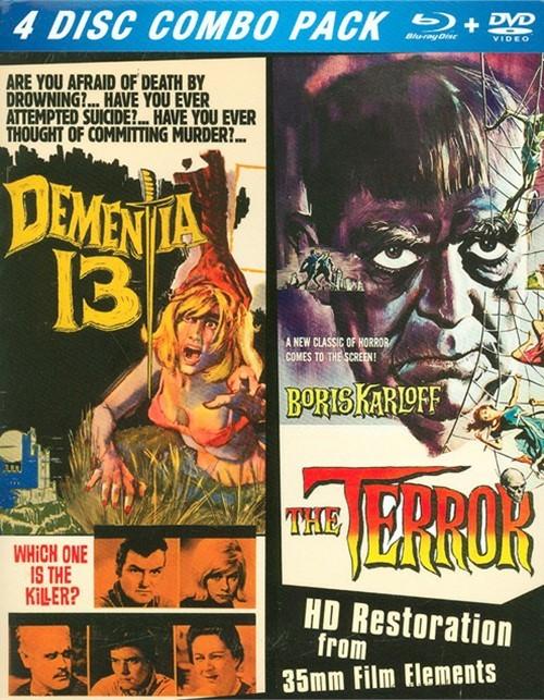 Terror, The / Dementia 13 (2 Pack)