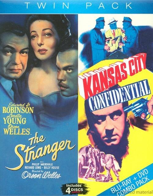 Kansas City Confidential / The Stranger (2 Pack)