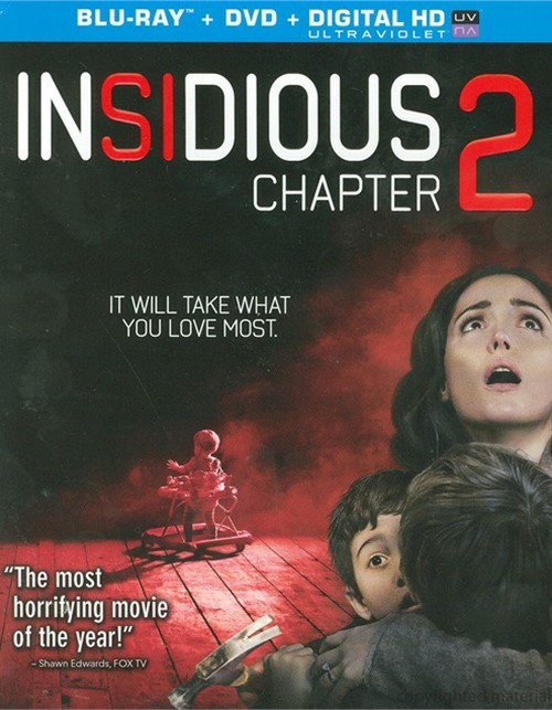 Insidious: Chapter 2 (Blu-ray + DVD + UltraViolet)