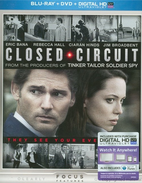 Closed Circuit (Blu-ray + DVD + UltraViolet)