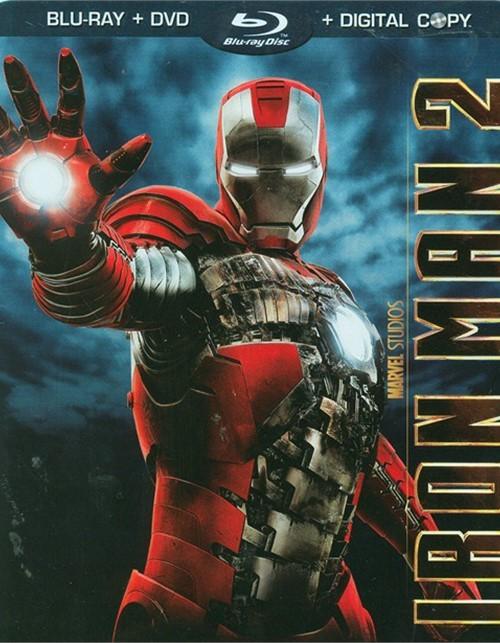 Iron Man 2 (Blu-ray + DVD Combo + Digital Copy)