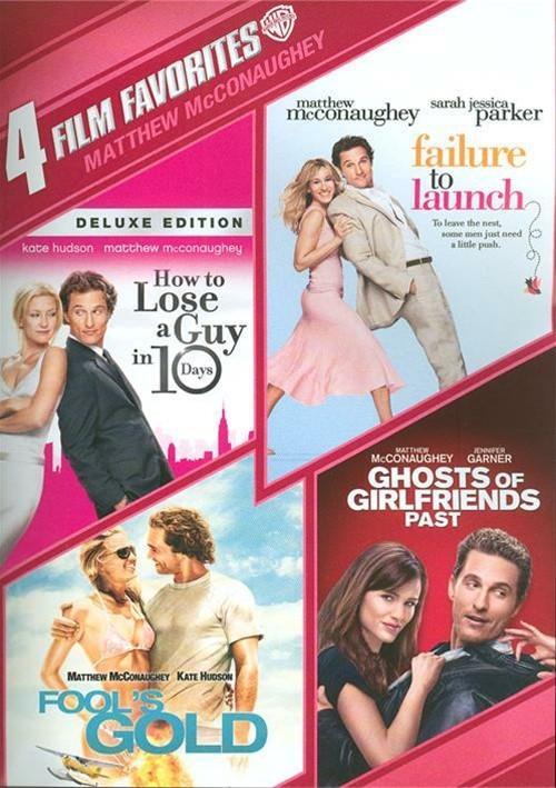 4 Film Favorites: Matthew McConaughey Collection