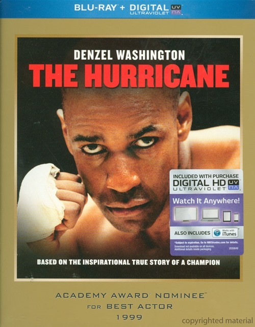 Hurricane, The (Blu-ray + UltraViolet)