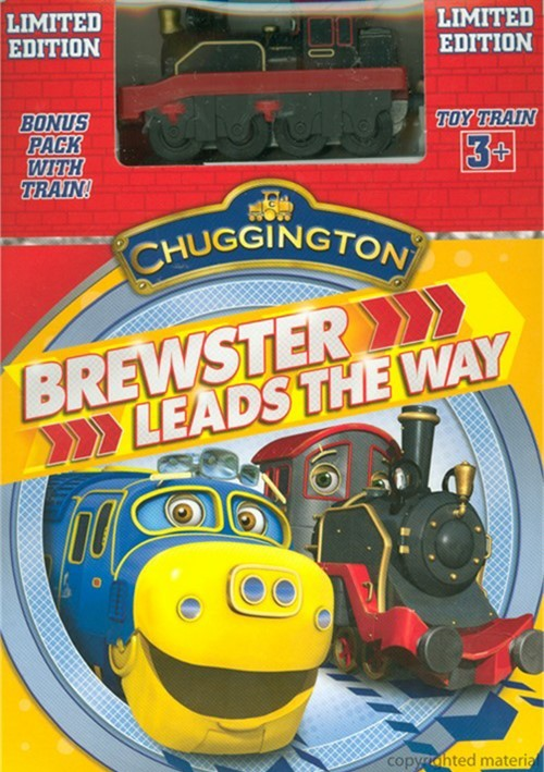 Chuggington: Brewster Leads The Way (With Toy Train)