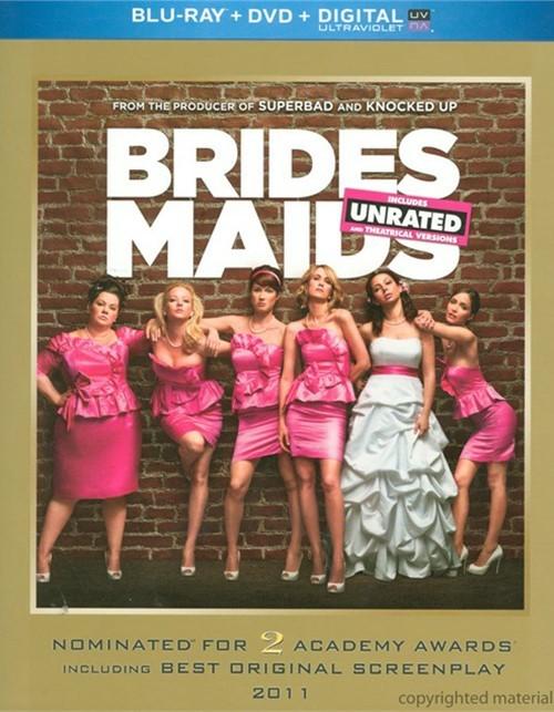 Bridesmaids (Blu-ray + DVD + UltraViolet)