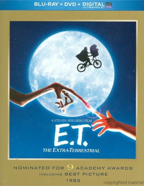 E.T. The Extra-Terrestrial (Blu-ray + DVD + UltraViolet)