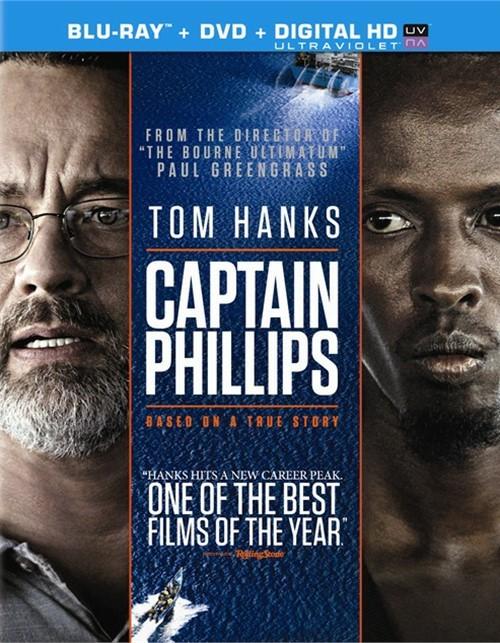Captain Phillips (Blu-ray + DVD + UltraViolet)