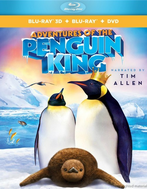 Adventures Of The Penguin King 3D (Blu-ray 3D + Blu-ray + DVD)