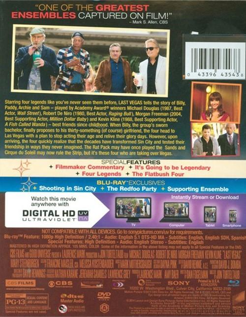 Last Vegas (Blu-ray + DVD + UltraViolet) (Blu-ray 2013