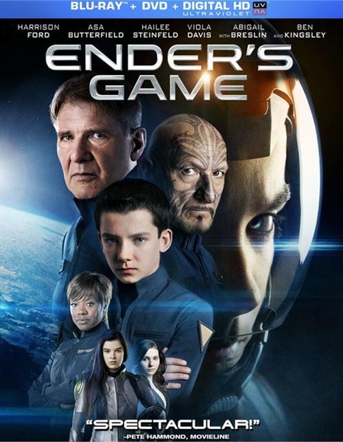 Enders Game (Blu-ray + DVD + UltraViolet)