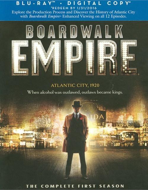 Boardwalk Empire: The Complete First Season (Blu-ray + Digital Copy)