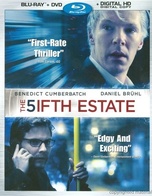Fifth Estate, The (Blu-ray + DVD + Digital Copy)