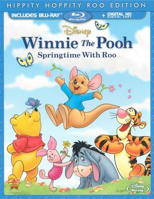 Winnie The Pooh: Springtime With Roo - Hippity Hoppity Roo Edition (Blu-ray + Digital Copy)